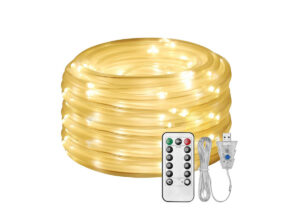 LED Dimmable Rope light Kit 20m (5)
